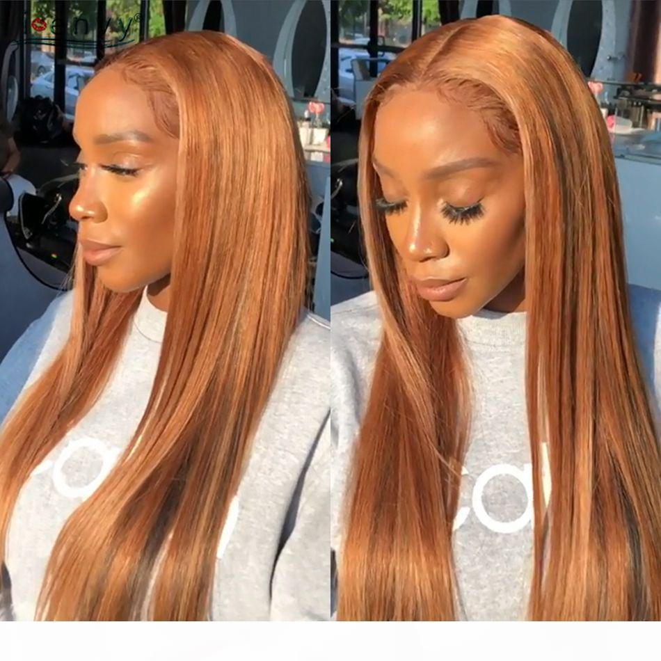 27# Human Hair Full Lace Wigs with Baby Hair Brazilian Straight Hair Wigs Lace Front Wig Pre Plucked Hairline