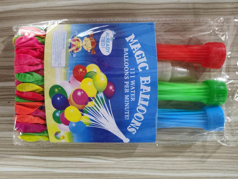 111 adet Su Balonlar Yaz Açık Parti Oyuncak Hızlı Enjeksiyon Balon Bombalar Yenilik Gag Oyuncaklar Çocuklar için DHL 08