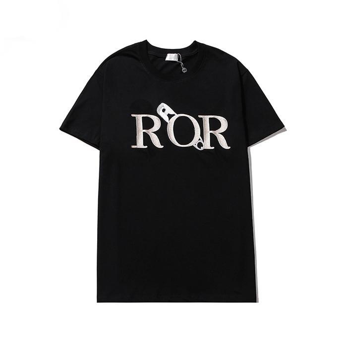 21SS New Mens Stylist T Shirt Men S Abbigliamento 3D Summer Tshirt Hip-Hop Donna S Manica corta Lussurys Designer Vestiti Lady Casual Tee