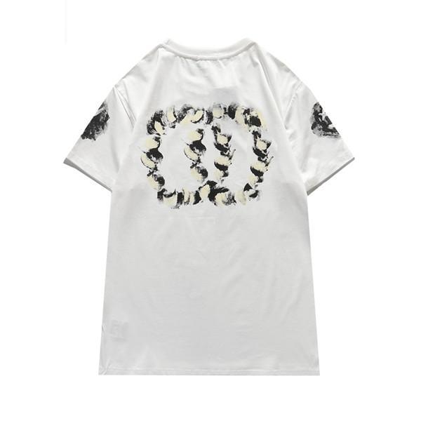 Erkek Stylist T Gömlek Erkek T Gömlek Yaz T-shirt Hip Hop Erkek Kadın Üst Tee Marka Tasarımcısı Tişörtleri