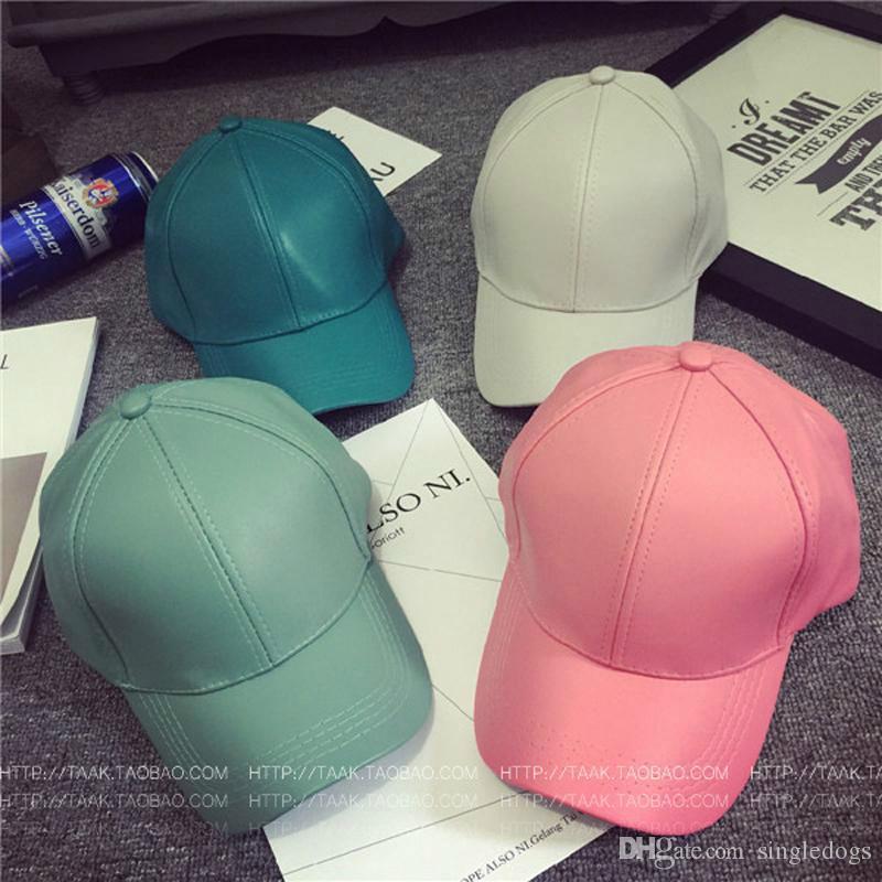 الجملة أزياء بو الجلود قبعات قابل للتعديل الكتابة على الجدران سنببك قبعات البيسبول ريترو قبعة الهيب هوب الرياضة أحباء الصرفة القبعات الظل اللون