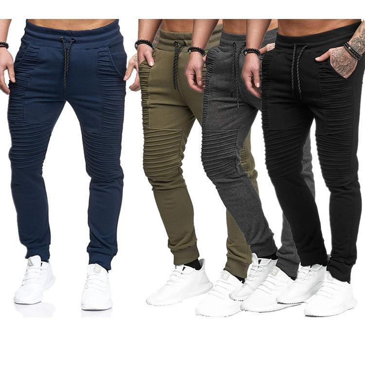Tempo libero Autunno e Design invernale Personalizzato Pantaloni da uomo sportivi Hip Hop Pantaloni fitness a strisce hip-hop