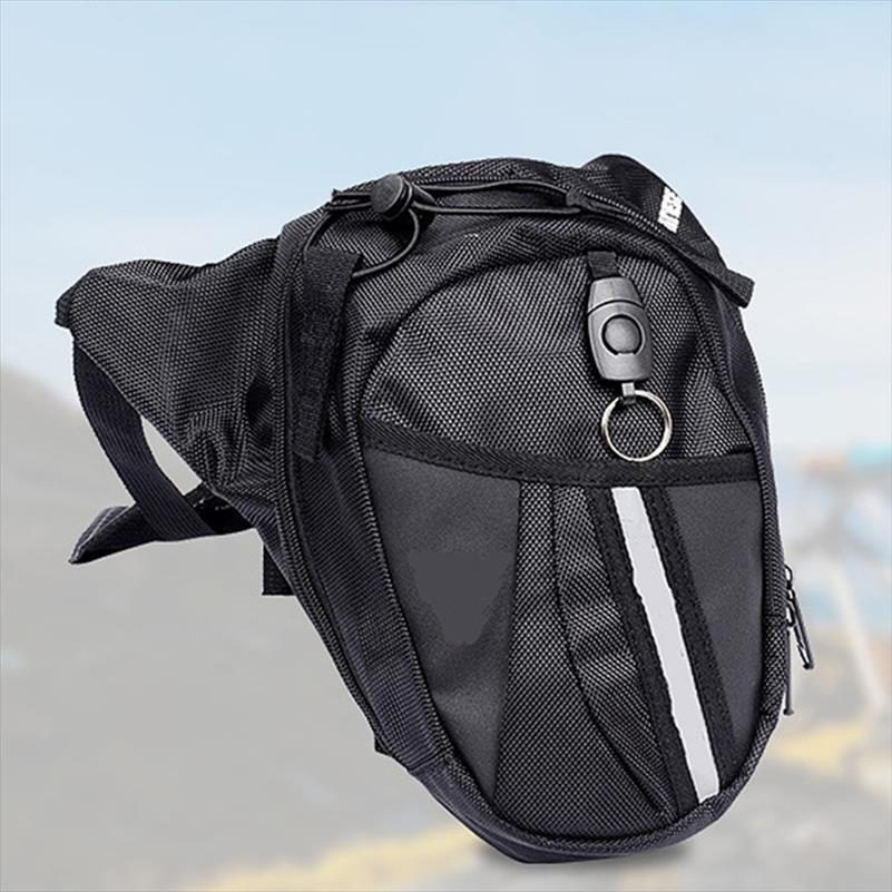 bel çantası Açık bacak çantası adam Motosiklet Bel Paketi Çanta Unisex Fanny Uyluk Kemer Bisiklet Çantaları