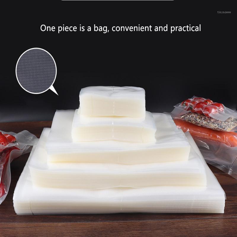 فراغ آلة ختم الغذاء 100pcs / lot السداده حقيبة التخزين البلاستيك لحزم التوفير التعبئة والتغليف رولز باكر ختم الحقائب 1