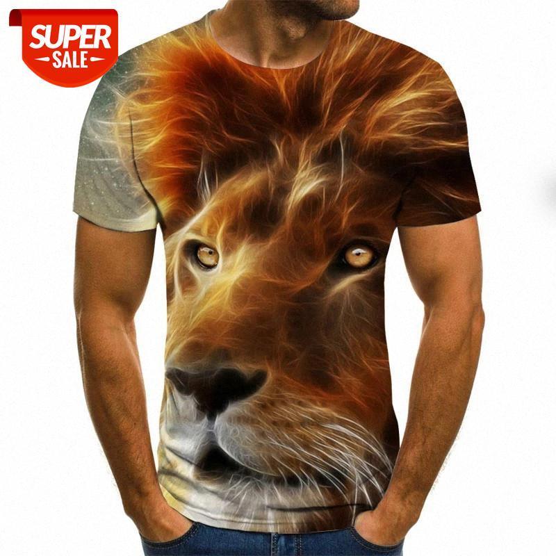 New fashion 3D printed animal pattern t-shirt streetwear men and women fashion t-shirt Harajuku shirt #cw1R