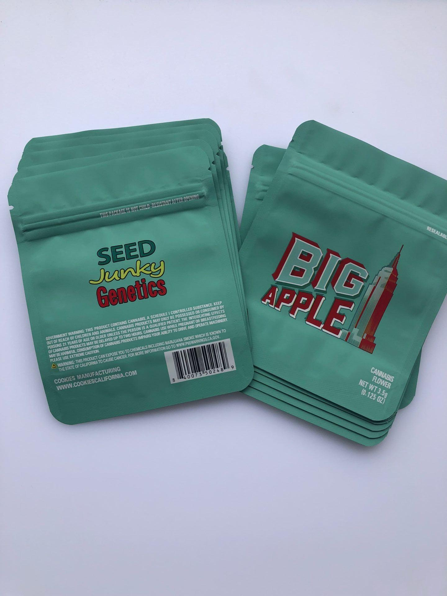 Bags Medicated Cookies Packaging Mint Edibles Local Mylar Edibles Bags Big Apple bbyMP yh_pack