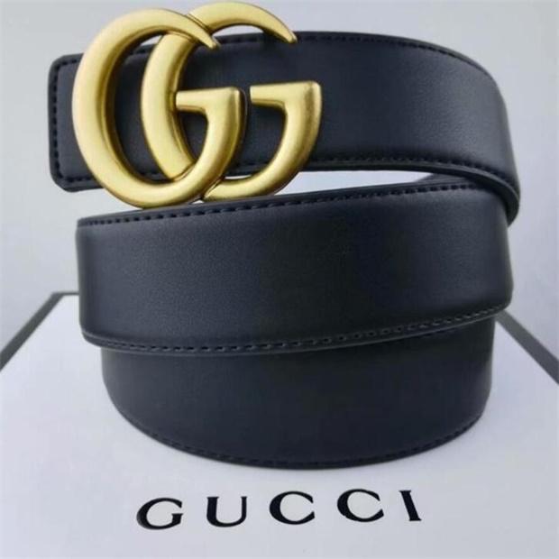 GucciGürtel Designer Gürtel Mensentwerfer belts7 Ledergeschäft Gurtschlösser Luxus Gürtel schwarz Gurt große Gold-Schnalle Frauen Gürtel Geschenk mit Kasten 52