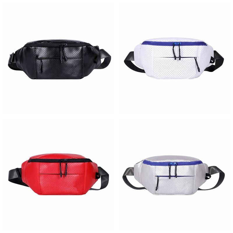 Denaro Qualità Donne Borsa Vita Fanny Pack Oxford Ladies Hip Top Pancia da uomo Banana Borsa Cintura Cintura Pocket Femmina Bum Donne Fashion PO Wuocm