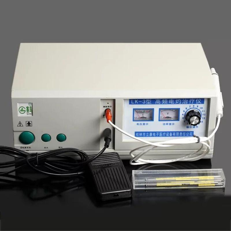 English interface LK-3 High Frequency Electrocautery Therapeutic Apparatus Cosmetic Surgery Electric Knife Hemostat