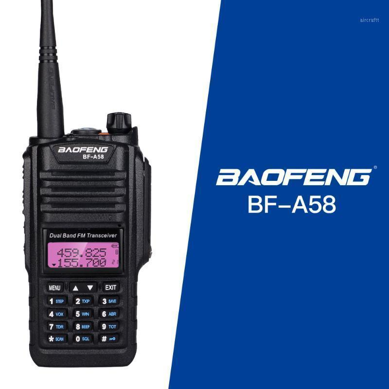 Walkie Talkie BAOFENG BF-A58 Professional Waterproof Portable With SOS FM Radio Station CB Ham Two Way Dual Band Vhf1