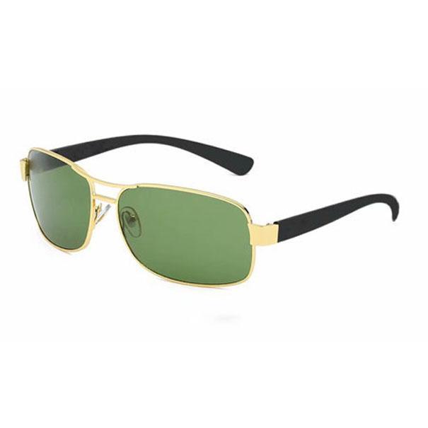 Óculos de sol quadrados Homens Mulheres UV400 Lente de Vidro Designer Eyewear Metal Frame Marca óculos de sol 3379 com caso