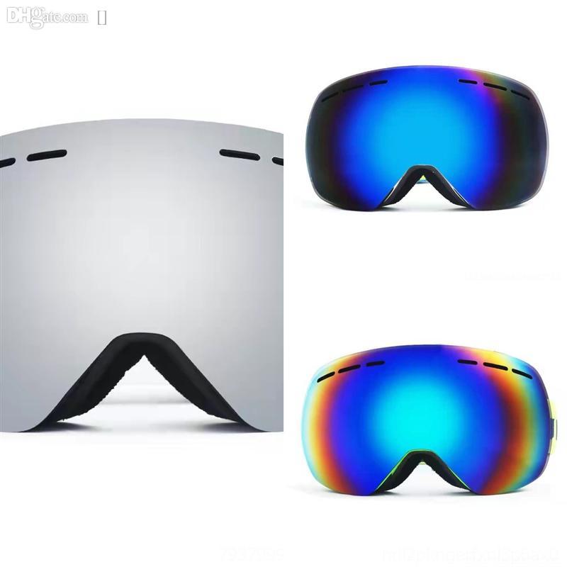 BT11 PeaP Gafas de esquí Eyewear Skiing Ski Goggles de alta calidad con lentes polarizadas de doble capa magnética Diseñador de esquí