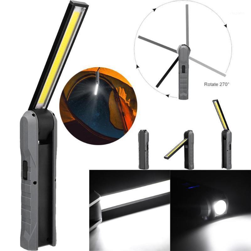 Spotlight de trabajo de protección Luz de trabajo COB + LED antorcha magnética recargable lámpara de inspección flexible luz de trabajo sin cable CD1 al aire libre