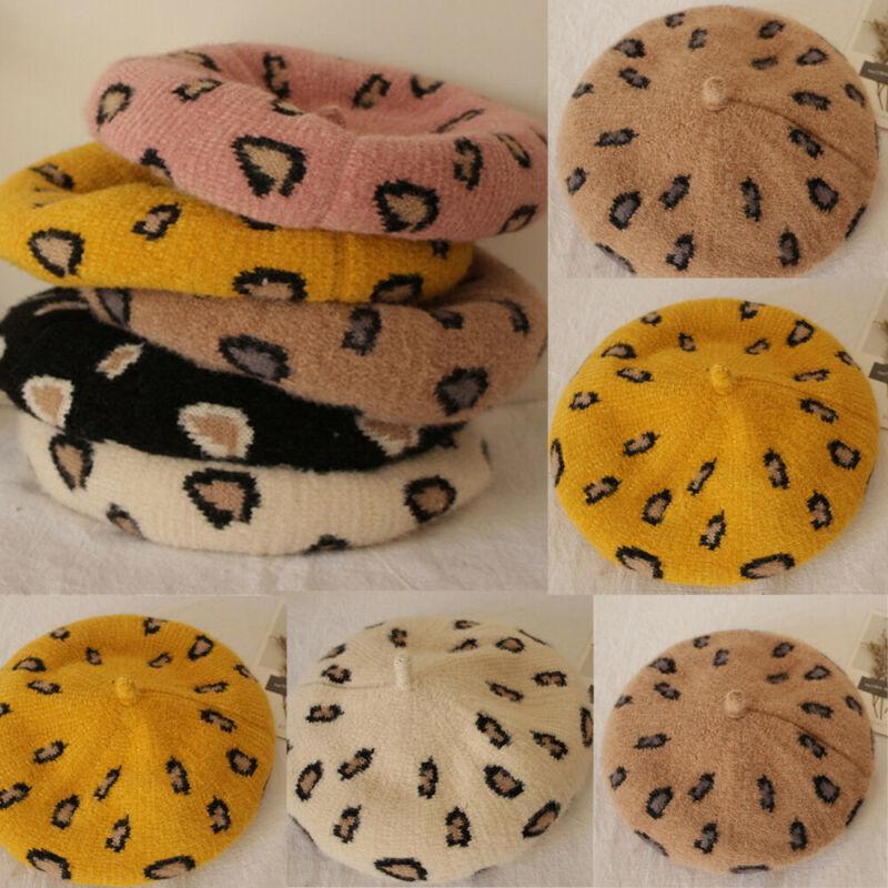 Bebé 2020 Nueva lindo boinas para bebé muchacha del muchacho de la boina del casquillo cúpula octogonal Sombrero Gorra de invierno cálido niñas boinas impresión simple