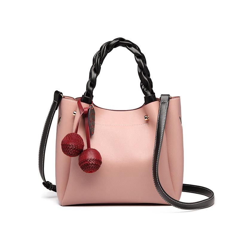 Spring/summer fashion bucket bag for women 2020 new versatile INS cross-slung fashion large volume handbag