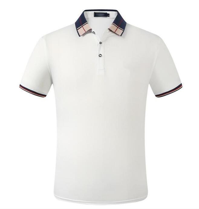 12 Mens Designer Polo Camisetas Polo Homens Homom Verão Polos Camisa Polos De Bordado Camisetas High Street Trend Camisa Top