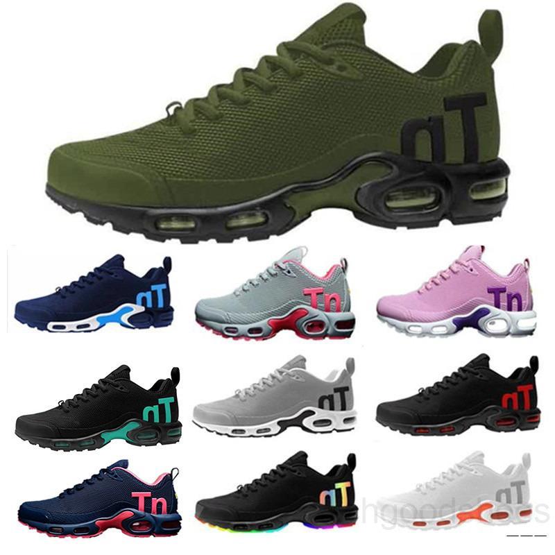 2019 New TN Mercurial Plus KPU for Black White men's Casual shoes sport shoes sole sneaker HT7M