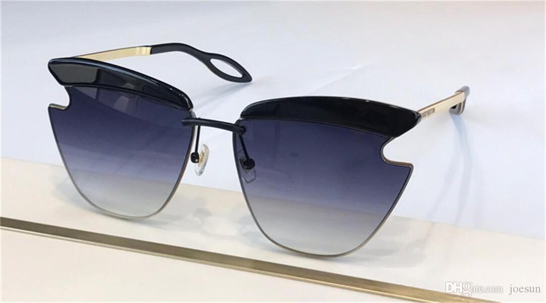 Metal Fashion Design Z1310E Gafas de sol Estilo Cat Top Frame Eyewear UV Nuevo Bestselling Protection Quality Popular 400 Lens XPVPE