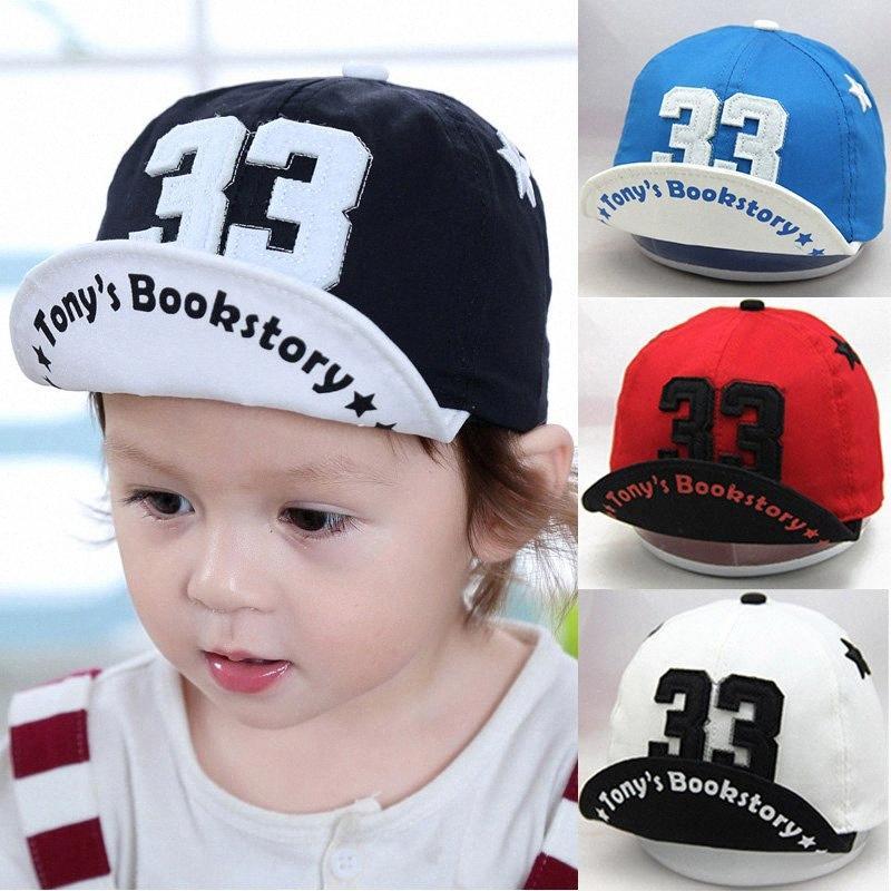 Letter Baby Hat Summer Cap Kids Baby Boy Girl Hat Adjustable Infant Toddler Baseball Caps Snapback Child Sun Bonnet Enfant fulm#
