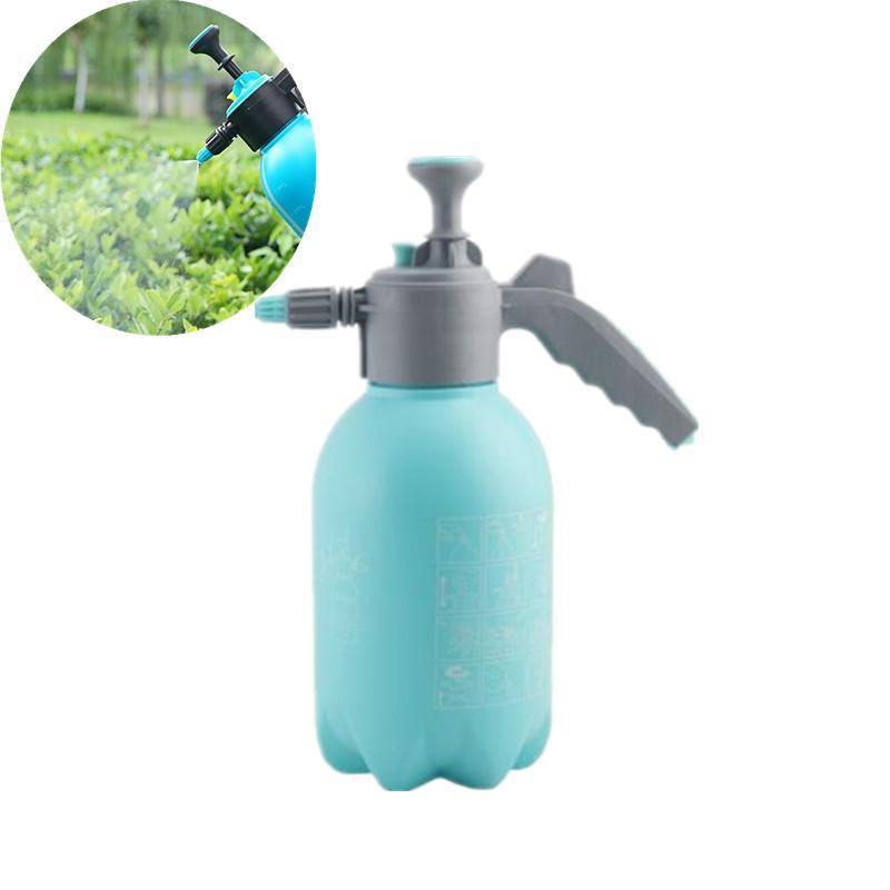 2L Blue Watering Can Pressure Gardening Household Sprayer Bottle Flower Watering Tools Water Sprayer