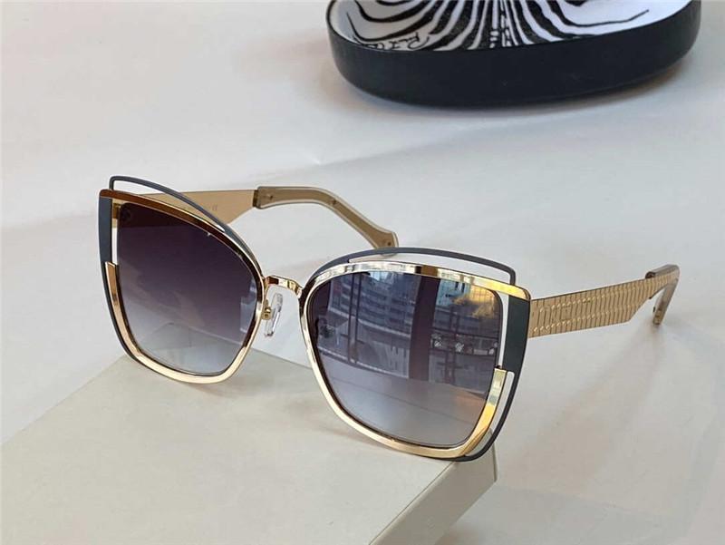 1096 جديد النظارات الشمسية المتقدمة الشعبية أزياء السيدات نمط خاص حماية الأشعة فوق البنفسجية عدسة الإطار الكامل أعلى جودة تأتي مع القضية والأعمال اليدوية