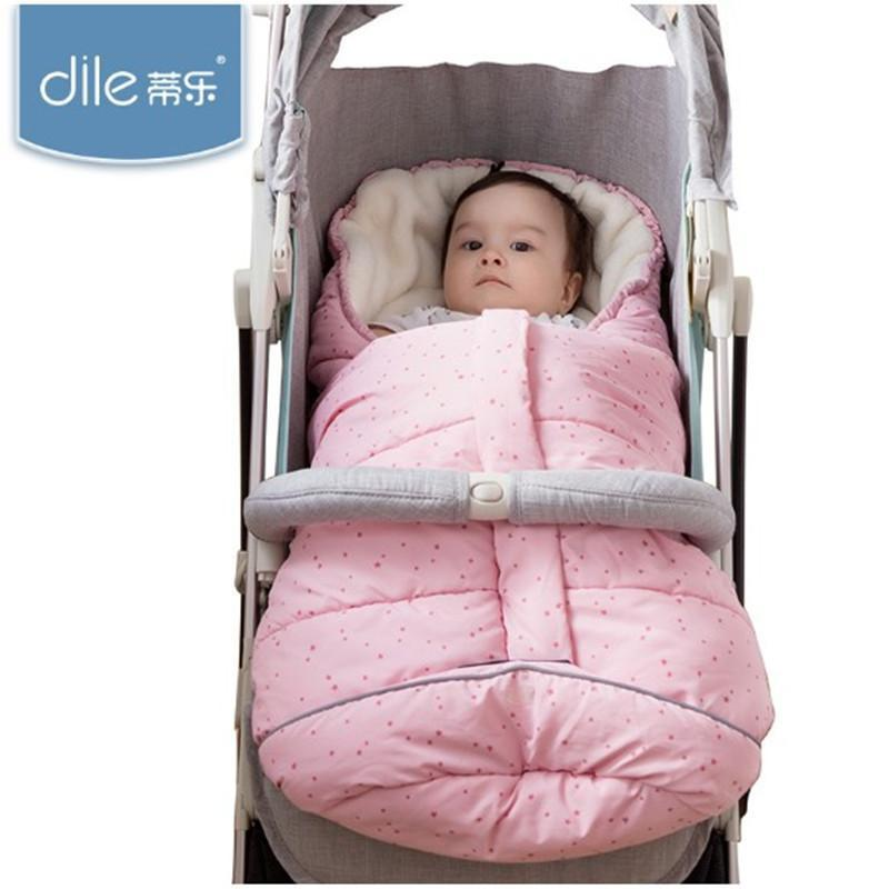 engrosamiento de bolsas de dormir de cochecito de bebé recién nacido para STK DSLAND Hot Mam Mom Stroller All puede usar accesorios
