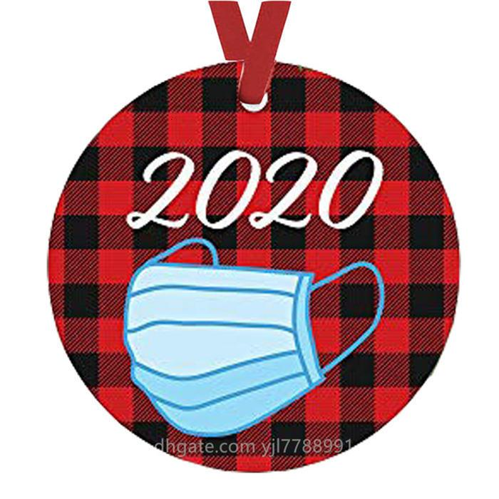 2020 Süsleme DIY Kardan Adam Tuvalet Kağıdı kolye Noel ağacı kolye Noel Dekorasyon Noel Hediyesi Süsleme GU879 Maske