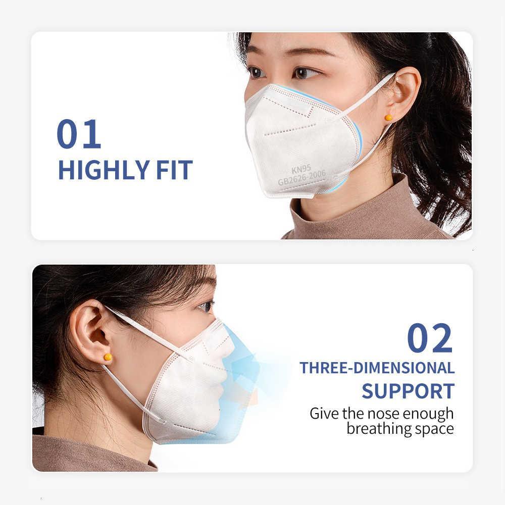 95 Одноразовая защита от пыли анти-дымчатый взрослый универсальный плавление распылительной тканью двойной сертифицированный респиратор свободный журнал