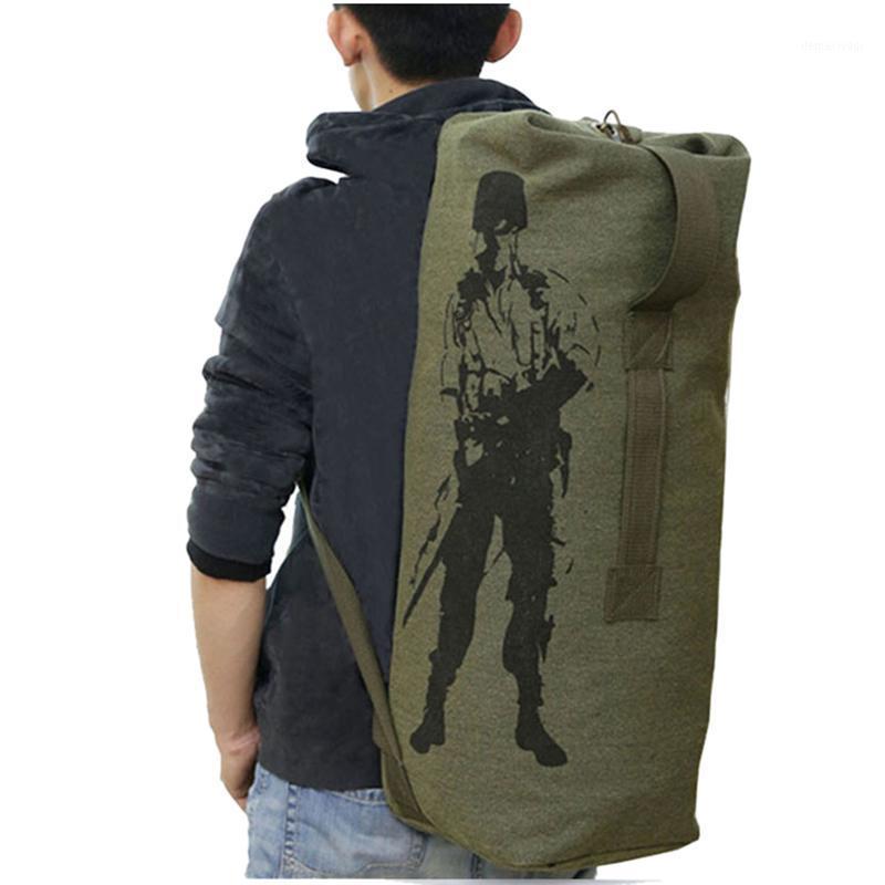 3 Размер Многофункциональный Холст Тактический рюкзак рюкзаки Армейский Сумка Мужчины Женщины Открытый Складной Путешествия Туризм Кемпинг Bag1