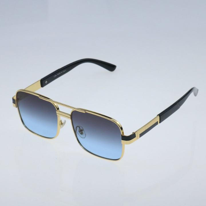 Fashion Square Gafas de sol UV400 Mujeres Hombres 2021 Lujo Classic Mascule Sun Glasses Marca Gafas de sol Metal