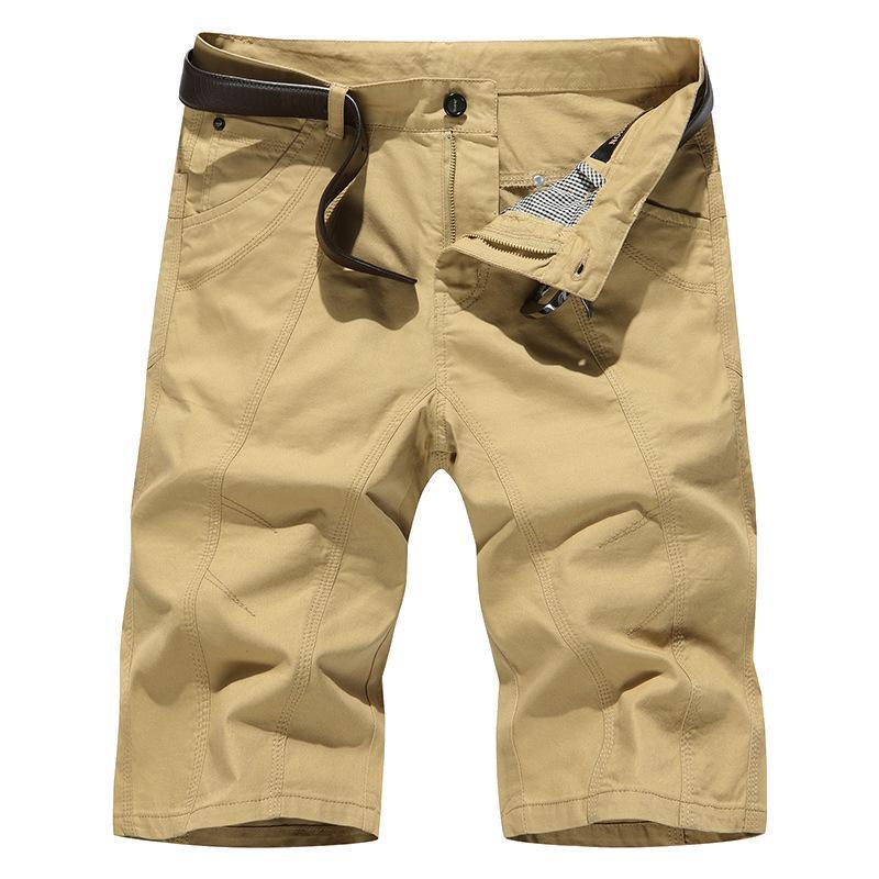Летние хлопковые шорты повседневные пляжные штаны Большие плюс жирные мужские капризы
