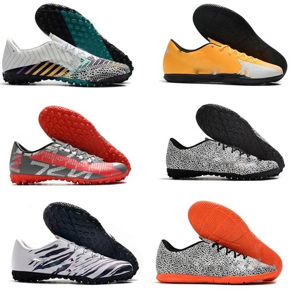 best Mercurial 13 Academy TF IC Turf Indoor hot Mens CR7 Cristiano Ronaldo Neymar Soccer Football Shoes Cleats Boots Size 39-45