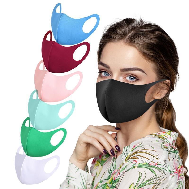 Máscara Moda Unissex Anti-Poluição Rosto lavável reutilizável respiração bucal Capa para equitação ao ar livre, pesca, ciclismo, decorações do Natal