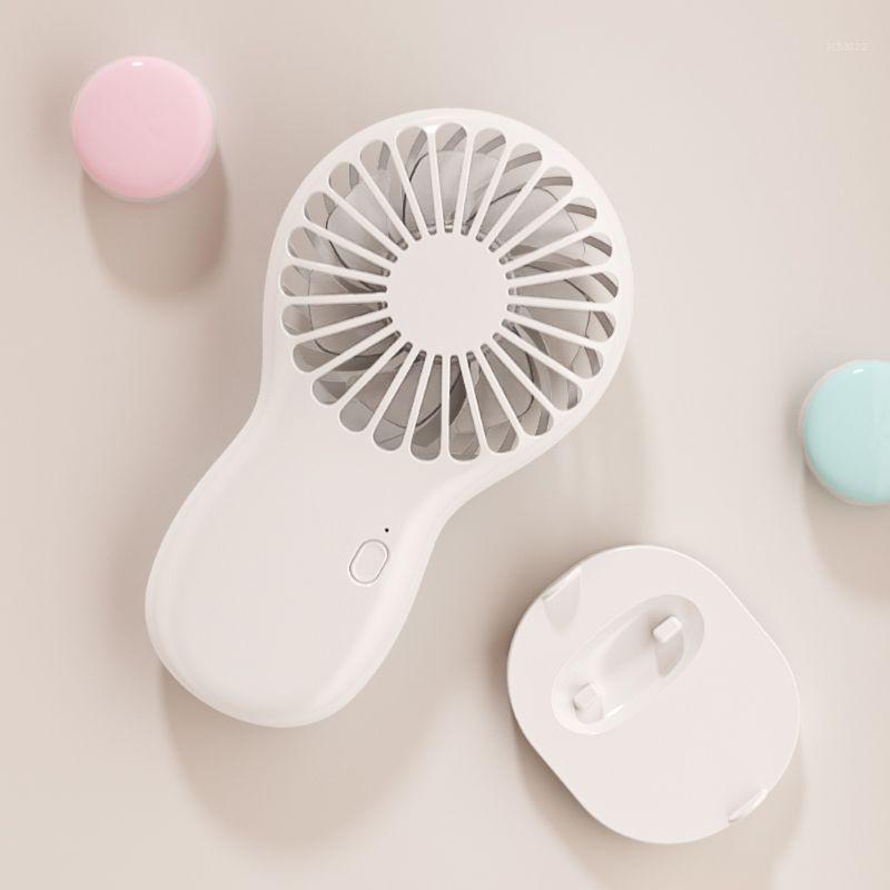 Mini rechargeable Portable Portable Pocket Titulaire de téléphone Air Cool Tenu à la main Travel Cooler Fan de refroidissement pour Office Outdoor Accueil1