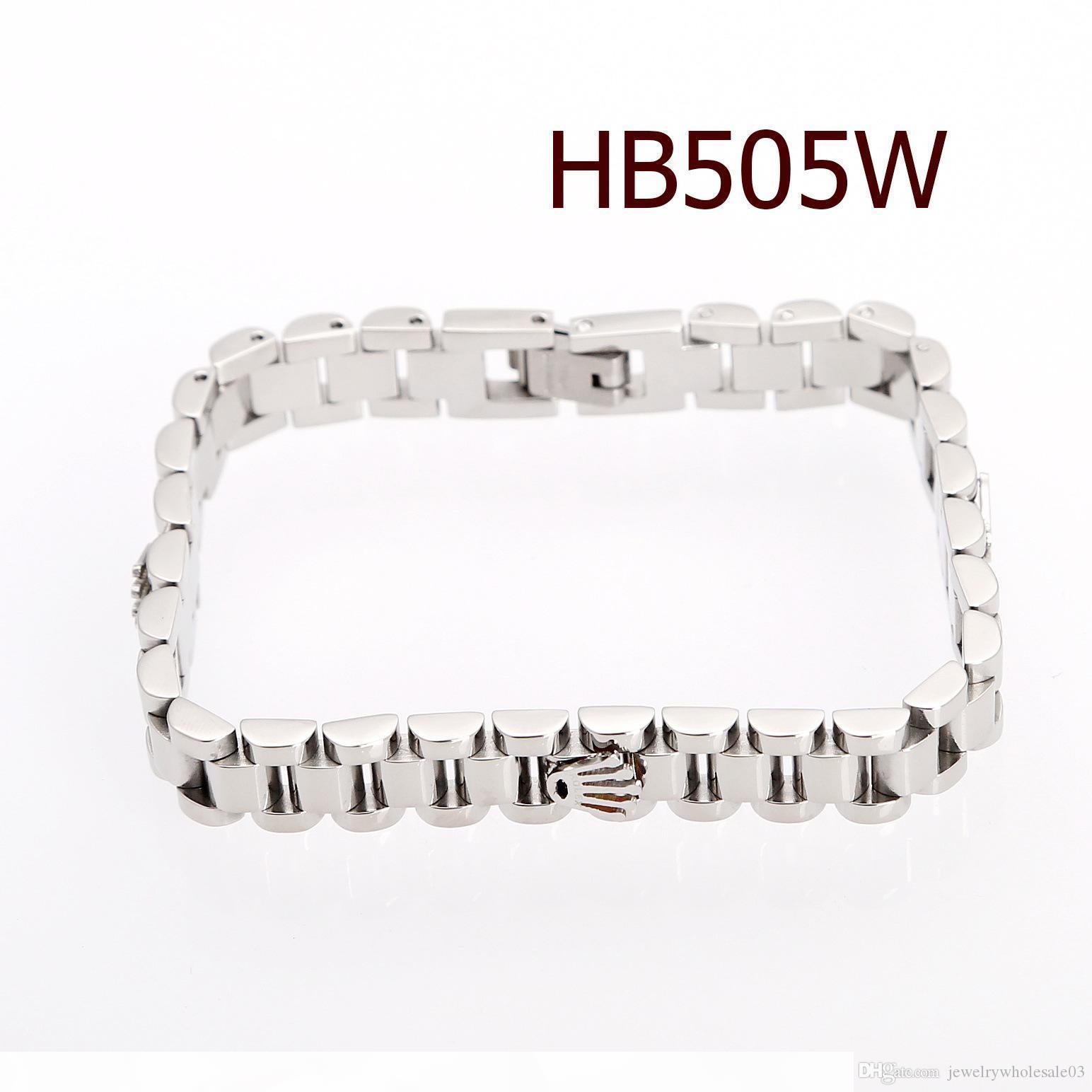 Alta qualidade da cadeia de aço inoxidável designer de bijuterias pulseira mulheres acessórios mens pulseiras de ouro pulseiras 2019