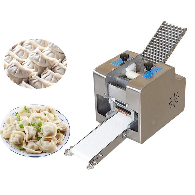 220V Пельмени Бумаги Производитель с использованием автоматического Wonton и Peampling Pressing Machine для коммерческого домохозяйства EU / AU / UK / US PLUSH