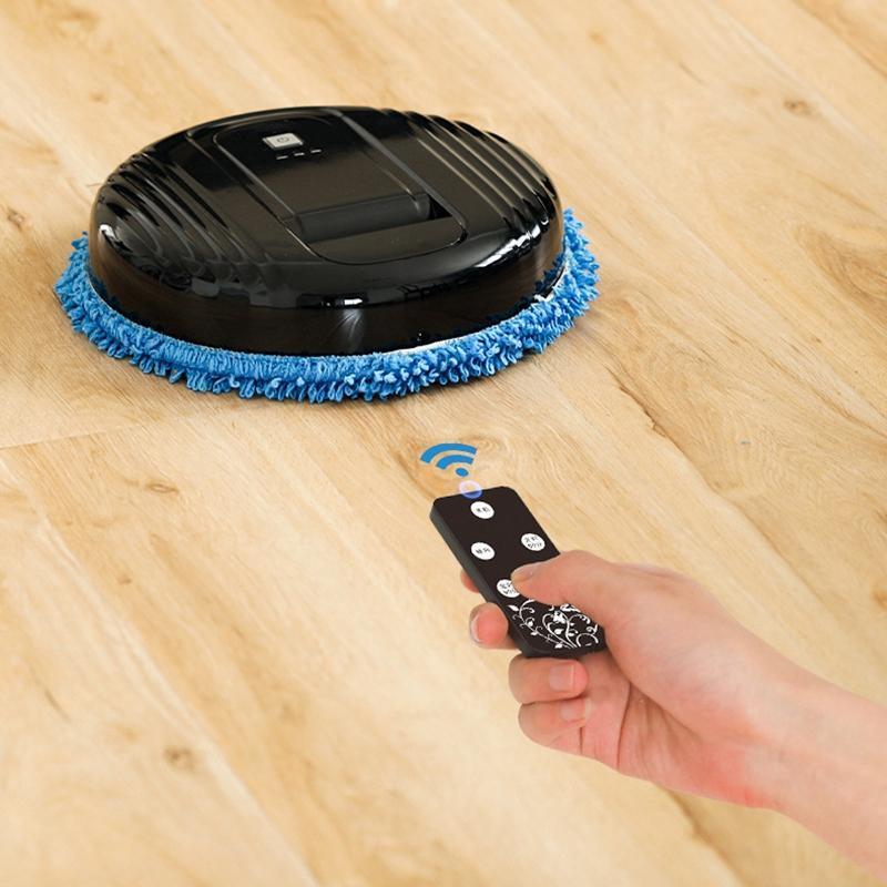 روبوت مكنسة كهربائية نظافة الطابق الذكي متعدد الوظائف، السحب الرطب روبوت كهربائي متكامل