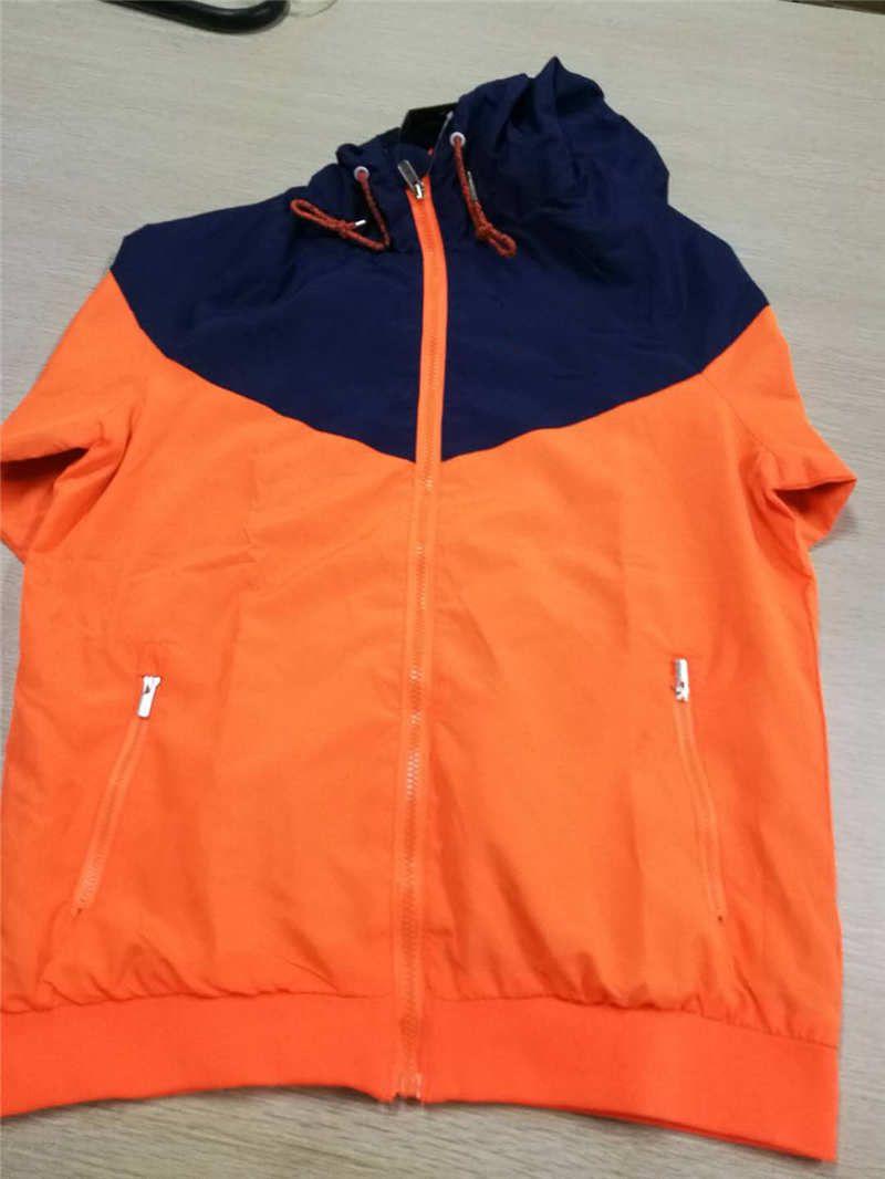 2020 الرجال سترة رياضية لكرة القدم نمط جديد معطف البلوز مقنع سترة واقية الرياضة جاكيتات بلايز ملابس الرجال S-2XL 7 ألوان