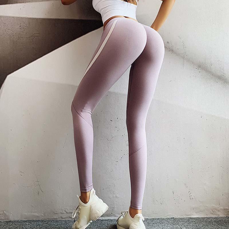 Женщины Йога Леггинсы Push Up пинетки Sport patns тренировки Леггинсы Gym Брюки Sexy Shapewear Running тренировочные брюки одежды 201015