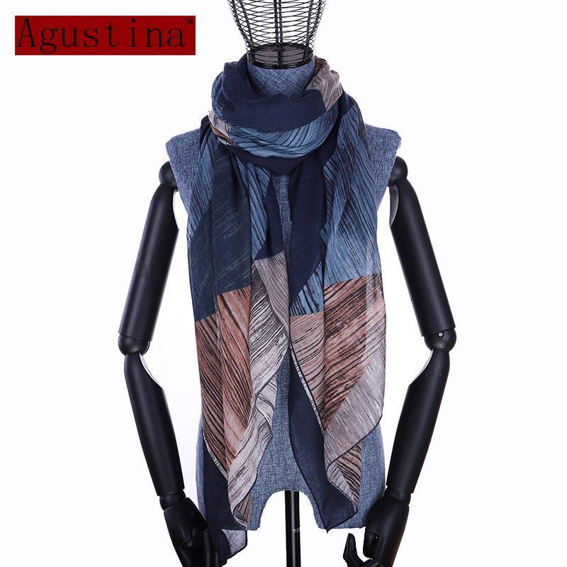 Хлопковый шарф зимний шаль женские клетки STOLES Hijab мыс моды шали fleberard femme осени женские пончо негабариты
