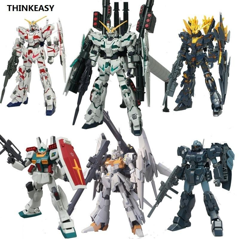 Unicorn Daban Gundam Model Jegan HG 1/144 Banshee Delta Zırh Uncheated Cep Takım Elbise Çocuk Oyuncakları