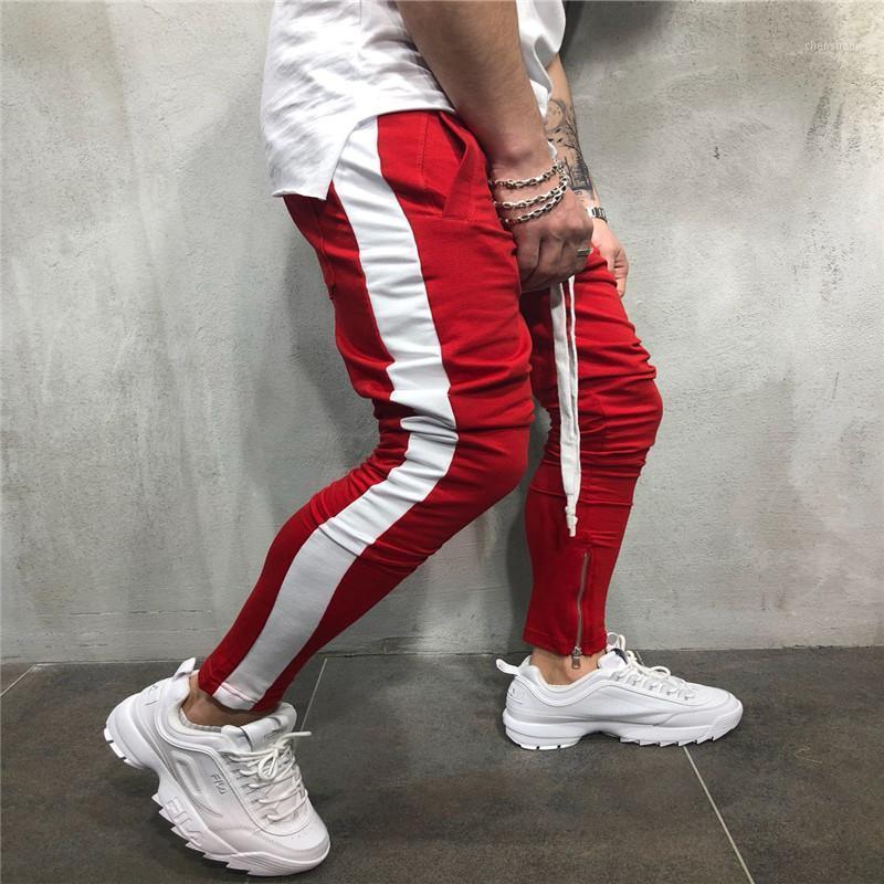 Pantaloni a righe Uomo 2018 Hip-hop Casualsports Pantaloni Pantaloni da uomo Street Fashion Pantaloni da uomo1