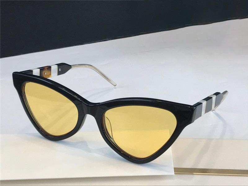 Plaque de lentille de style complète de style femme pour triangle supérieur spécialement 0597S cadre lunettes de soleil qualité Populaire nouvelle mode généreuse UV400 dames LAFD