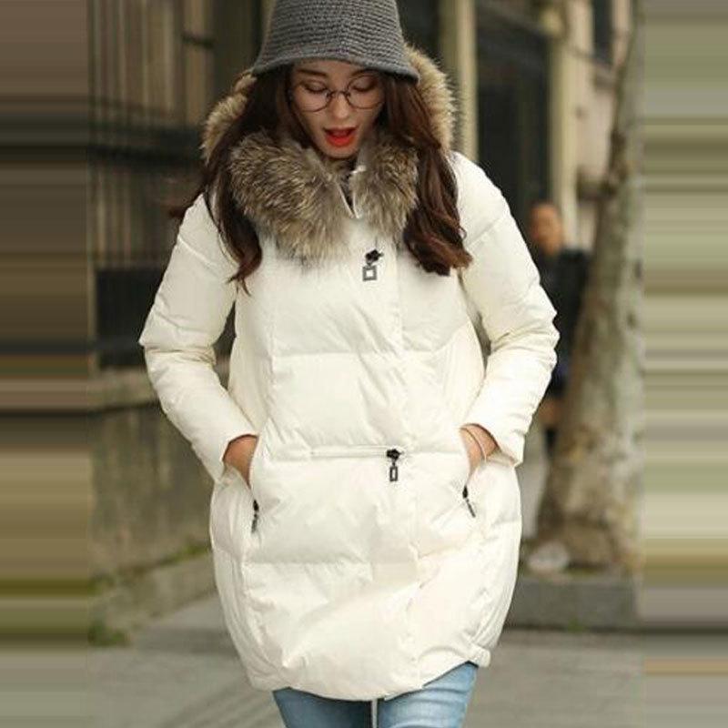 Manteau à capuche Femmes Parkas 2020 Nouvelle veste femmes col de fourrure vêtement Femme Plus Size Manteaux d'hiver 5x
