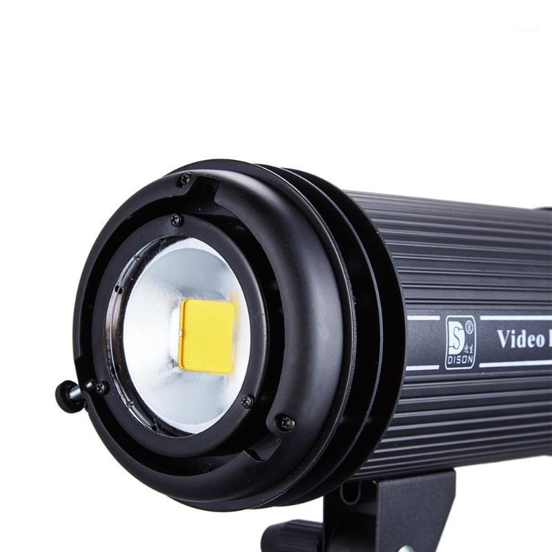 200W Daylight 5500K Spotlight DMX LED Studio Light Vidéo Yidoblo LED-V200 LIGHT Stream Lampe Lampe de poussée Télécommande LED Light1