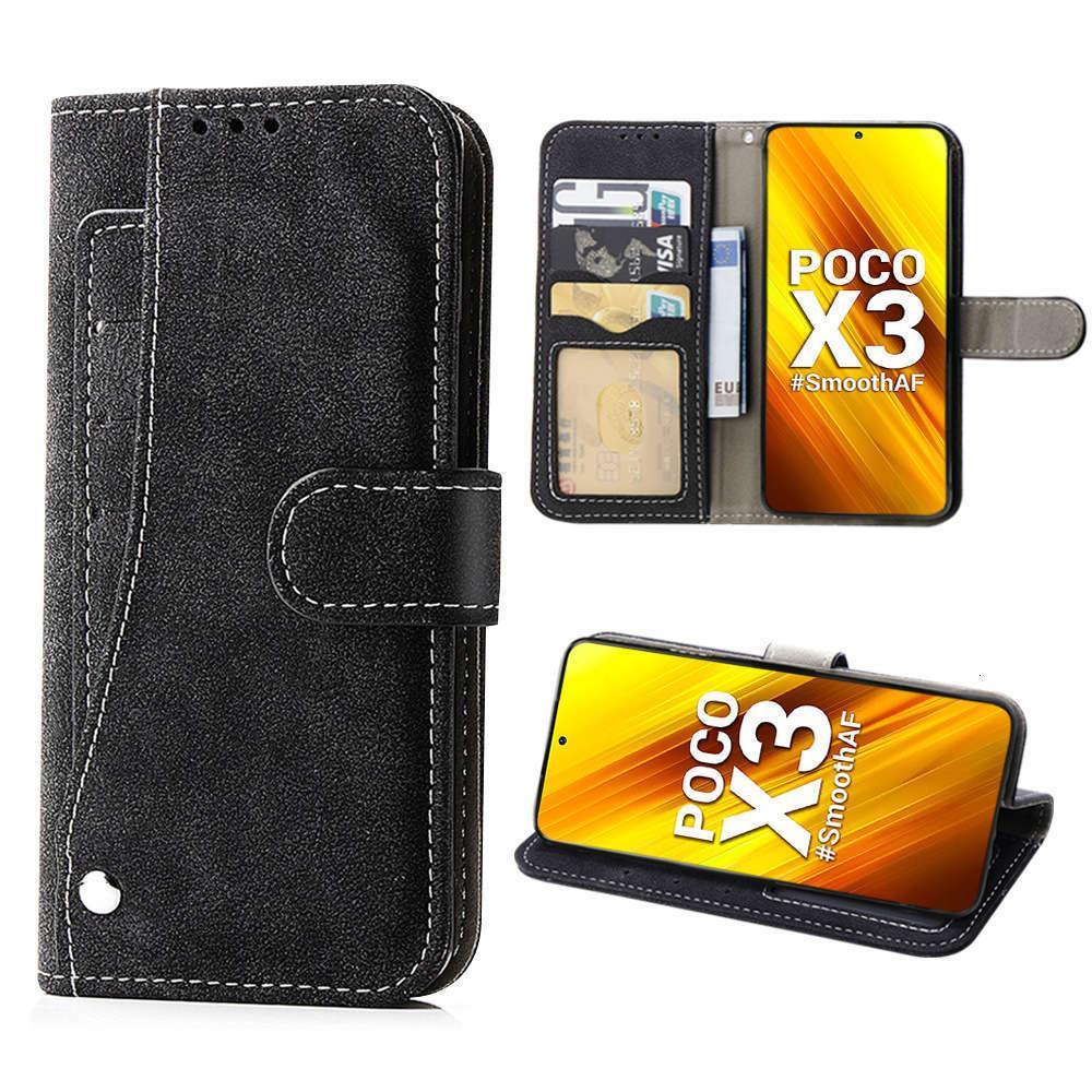 Es eignet sich für Hirse POCO X3 Multifunktions-Mobilfunk-Case-Wallet-Kartenhalter zum Schutz des Ledertasche von FallingVFE1