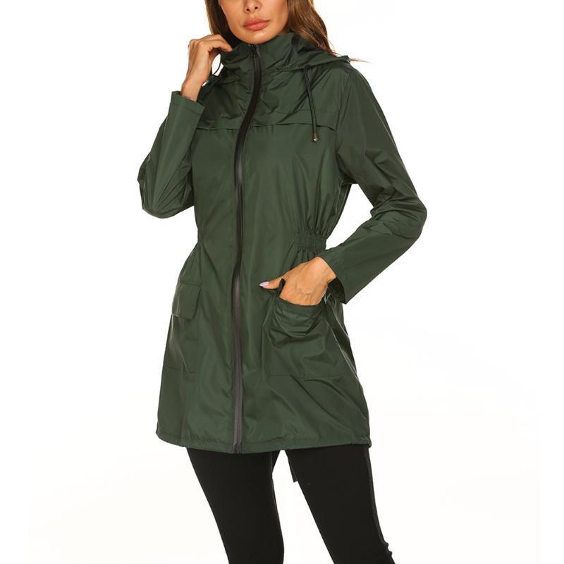 Winter-neue Damen-Jacken-Mantel verdicken mit Kapuze warmer leichte wasserdichter langen Parka Puffer im Freienbergjacke