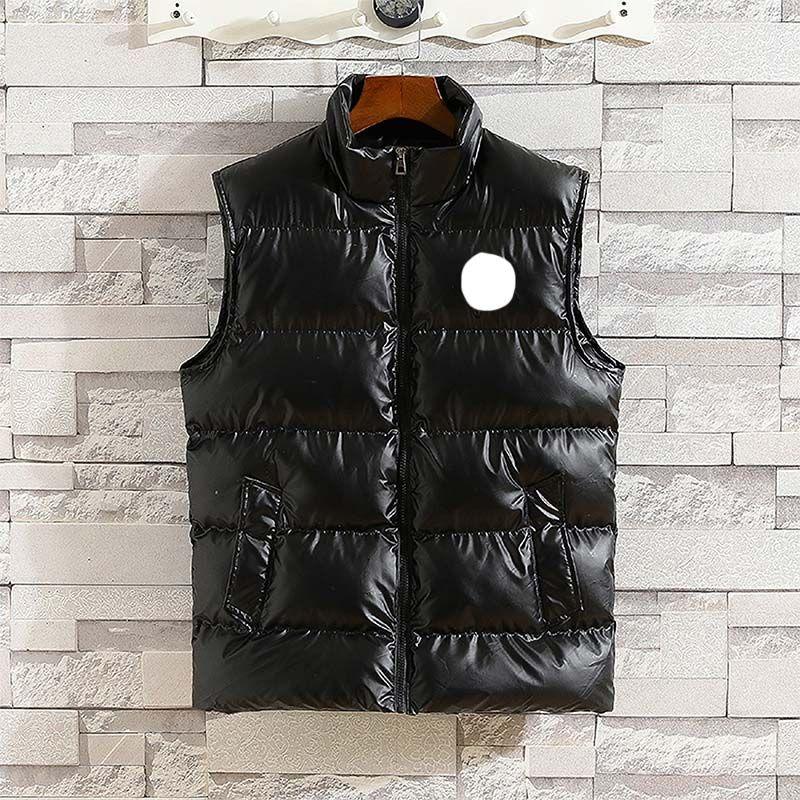 Veste sans manches de luxe Down Homme Hoodie Vest Automne et hiver Casual Coase Manteau M-XXXL