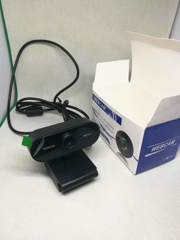 El más reciente de cámaras 1920 * 1080 cámara llena de Resolución Dinámica de alta definición con una función de absorción de sonido del micrófono de corrección automática de color Webcams 1080P DHL