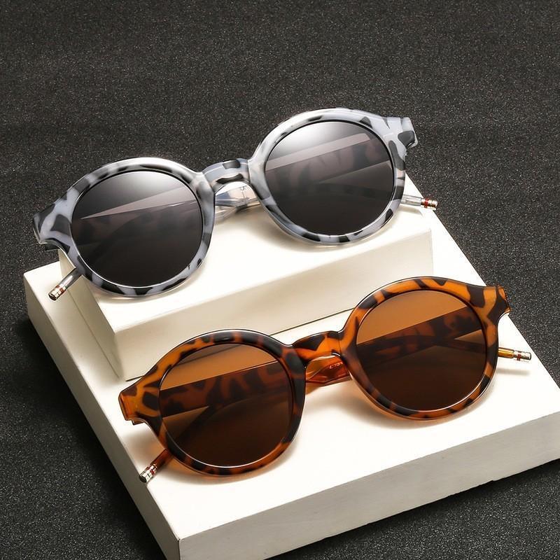 Солнцезащитные очки классические ретро женщины круглые очки солнцезащитный крем UV400 дизайн бренда мужчины солнце Гафас де Солью